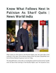 Know What Follows Next In Pakistan As Sharif Quits News World India.pdf