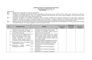 8. Penetapan Indikator Pencapaian Kompetensi.doc