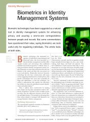 Biometrics in identity management.pdf