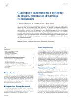 Gynécologie endocrinienne-méthodes de dosage, exploration dynamique et moléculaire.pdf