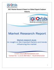 2017 Market Research Report on Global Organic Soybean Industry.pdf