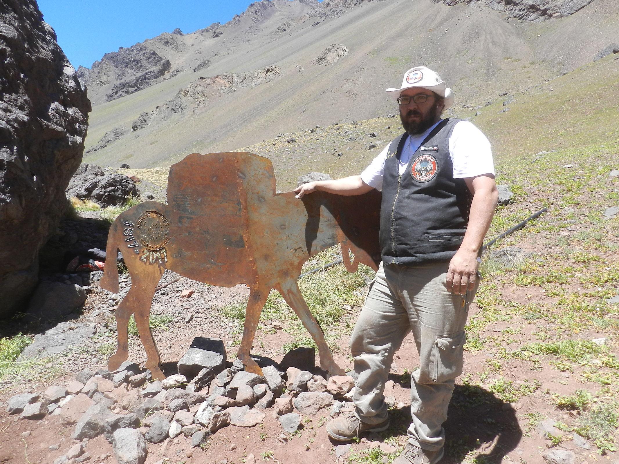 Relato personal: Homenaje Gesta de Los Andes. DSCN6675