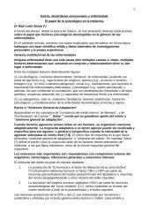 Estr�s, Des�rdenes Em. y Enfermedad (T�cnico).doc