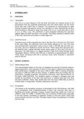 Feasibility Study Report - Hydrology.doc