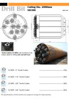 Drill Bit - Tooth Cutter (Cutting Dia. 2000mm, NW300).pdf