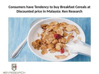 Consumers have Tendency to buy Breakfast Cereals at.pptx