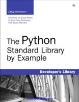 The Python Standard Library by Example.pdf