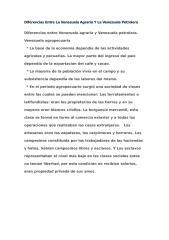 diferencias entre la venezuela agraria y la venezuela petrolera.doc