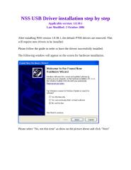 nss usb driver installation step by step.docx
