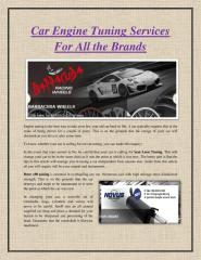 Car Engine Tuning Services For All the Brands.pdf