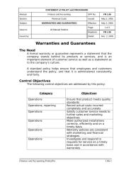 Warranties and Guarantees Overview.doc