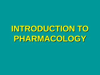 Definition of pharmacology.ppt.ppt