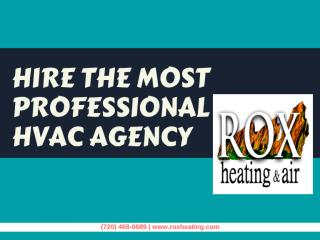 Hire the Most Professional HVAC Agency.pdf