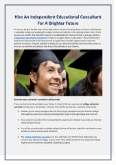 Hire an Independent Educational Consultant for a brighter future (1).pdf