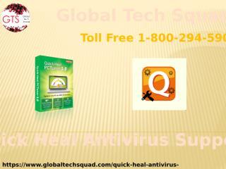 Quickheal Antivirus Support Toll Free 1-800-294-5907.pptx