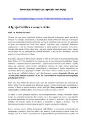 A Igreja Católica e a escravidão.pdf
