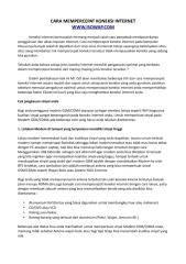cara mempercepat koneksi internet.pdf