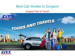 Best Cab Vendor in Gurgaon.pptx
