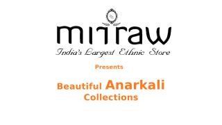Designer Anarkali Collections and types.pptx