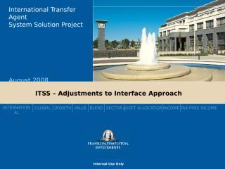 Interface Approach V6.ppt